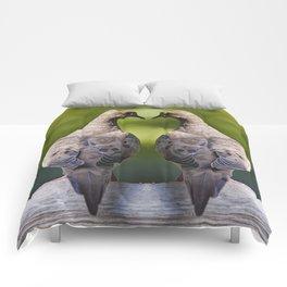 Dove Love Birds Comforters
