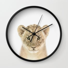 Baby Lion Wall Clock