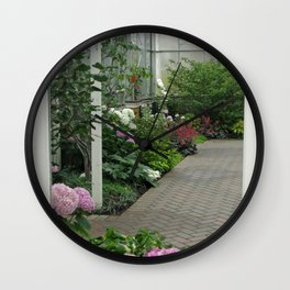 Blooming Conservatory Wall Clock