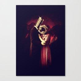 Screw Love Canvas Print