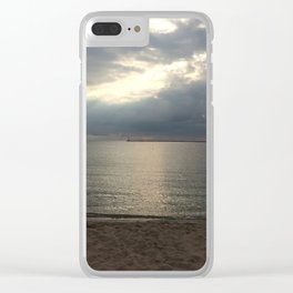 Muskegon- Calm After the Storm Clear iPhone Case