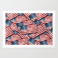 american Art Prints featuring American by Erwin de Gruil