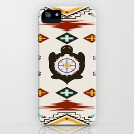 She Weaves Her Life iPhone Case