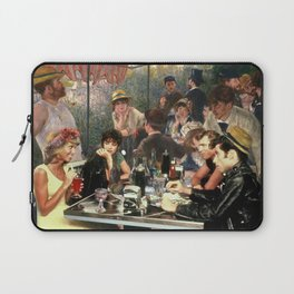 Renoir's Luncheon of the Boating Party & Grease Laptop Sleeve