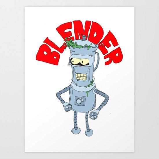 blender Art Print