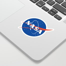NASA logo Space Agency Astronaut Sticker
