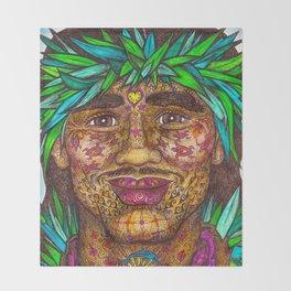 Wisdom Keeper Color #58 (Vitality) Throw Blanket