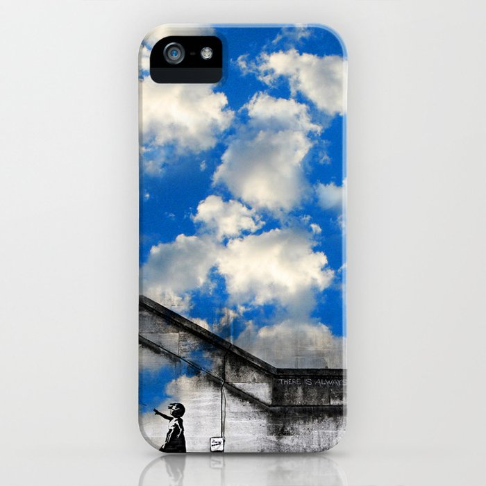 A Balloon to the Wind iPhone Case