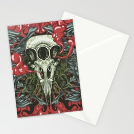 3 Eye Raven Stationery Cards