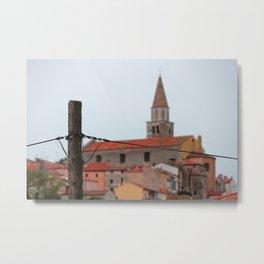 Town in Croatia Metal Print