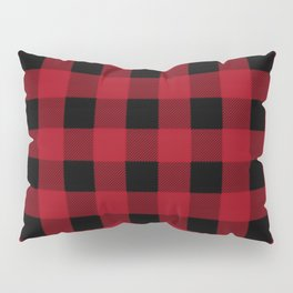 Red Buffalo Plaid Pillow Sham