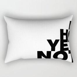 Not Yet Home Rectangular Pillow