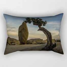 Juniper Tree in Joshua Tree National Park Rectangular Pillow