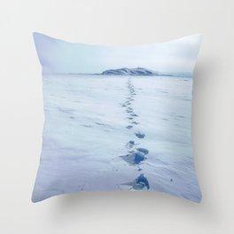 A Long Walk Throw Pillow