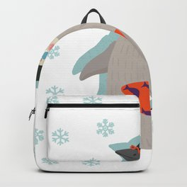 March of The Holiday Penguin Backpack