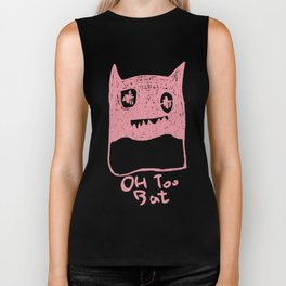 Oh Too Bat Biker Tank