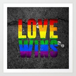 Love Wins Art Art Print