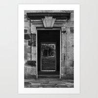 Frame in frame Art Print