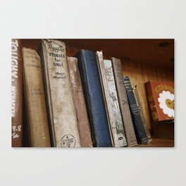 Stories for Girls Canvas Print