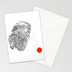 the Fingerprint Stationery Cards