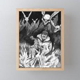Hunter Beware Framed Mini Art Print