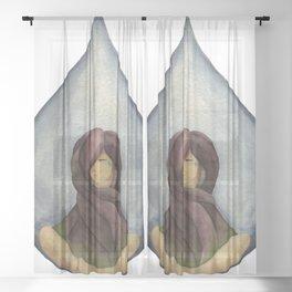 Tear Drop Sheer Curtain