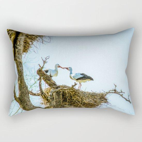 Hot kiss Rectangular Pillow