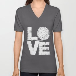 Sewing Love | Wool Tailor Seamstress Sewing Sewer Unisex V-Neck