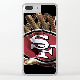 San Francisco Gloves Clear iPhone Case