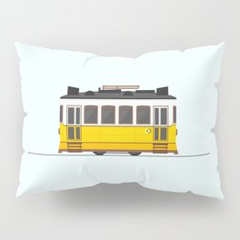 Lisbon 28 Tram Pillow Sham
