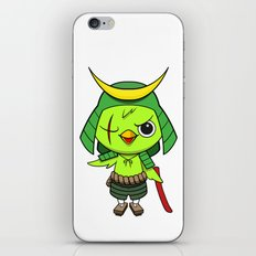 Samurai Bird iPhone & iPod Skin