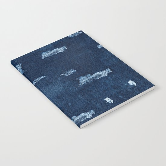 Patched Jeans  Notebook