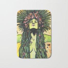 Green Goddess Bath Mat