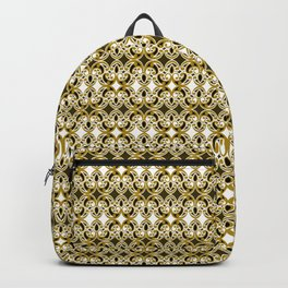 Filigree- Gold the Digital Maori collection Backpack