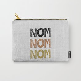Nom Nom Nom Carry-All Pouch