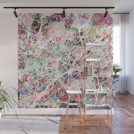 Limoges map Wall Mural