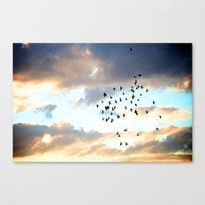 Don't Break Formation Canvas Print