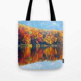 Autumn Colors at Lake Killarney Tote Bag