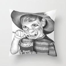 Artless Nonculture (Lowbrow) Throw Pillow