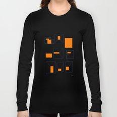 ORANGE ABSTRACT LIGHTS Long Sleeve T-shirt