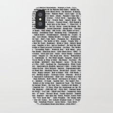 Crazy Fantastic Dirty Wine List iPhone X Slim Case