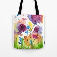 Flower Doodle 4 Tote Bag