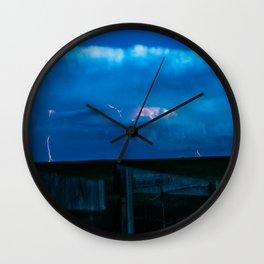 Rolling Wyoming Wall Clock