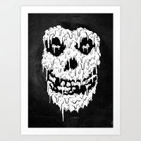 Fiend Melt  Art Print