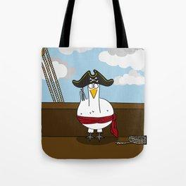 Eglantine la Poule (the hen) diguised as a pirate captain Tote Bag