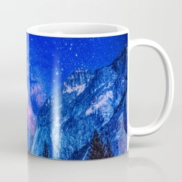 Milky Way Over Mountain Coffee Mug