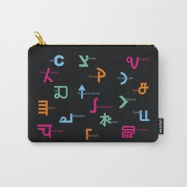 C in Scripts Around the World /I Carry-All Pouch