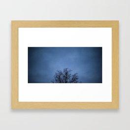 skytree Framed Art Print