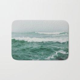 Foggy sea Bath Mat