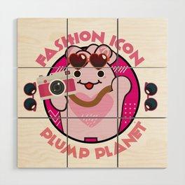 Fashion Icon Wood Wall Art